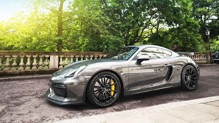collecting my brand new cayman gt4 nearly crashing