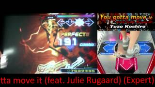 Kon - You gotta move it (feat. Julie Rugaard) (Expert) AAA on DDR SuperNOVA (North America)