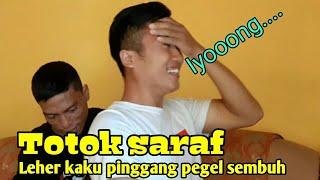 Pijat totok saraf - Sulthon Syafaat - atasi leher kaku pinggang sakit