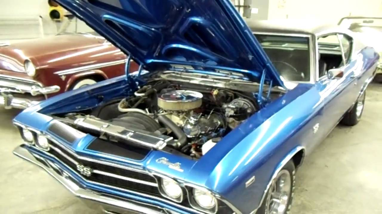 Air Conditioning Not Working In Car >> 1969 Chevelle SS Trim 350 with Factory Air Conditioning Red - YouTube