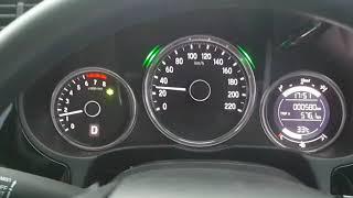 Honda City V+ (2017) Test 0-120 km/Hr.