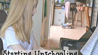 Starting Unschooling