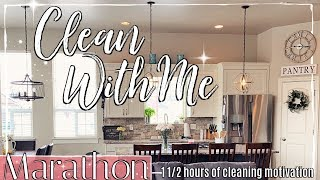 SPRING CLEAN WITH ME MARATHON 2019 :: 1 1/2 HOURS OF INSANE CLEANING MOTIVATION :: CLEANING ROUTINE
