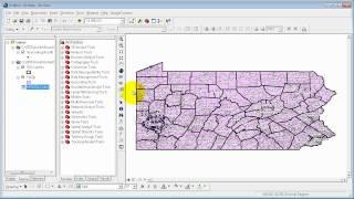 GIS Tutorial-1: Assignment 7-1 (Ver 9.3)