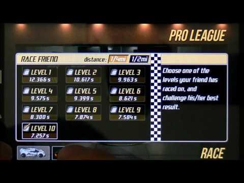 Drag Racing TUNE 7 259 level 10 1/4 Bugatti Veyron 1st gear tune