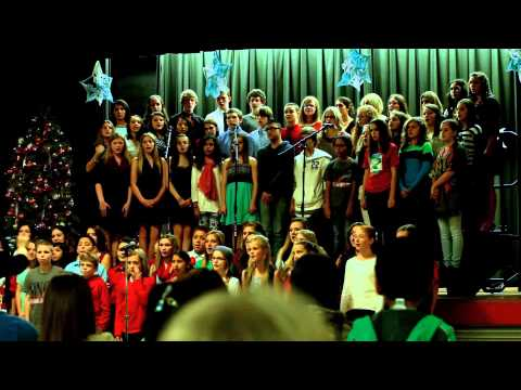 Bridge City Middle School Choir - We Wish You A Merry Christmas