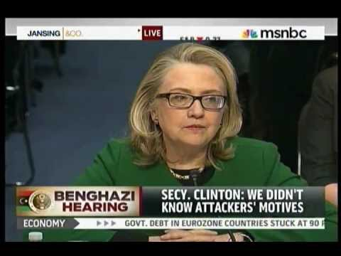 "Hillary Clinton, Benghazi ""What's The Difference?"" Four Dead Americans"