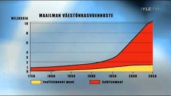 TV-uutiset: Maapallon väkiluku ylittää 7 mrd lokakuussa 2011