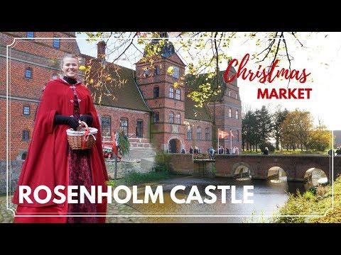 Rosenholm Castle CHRISTMAS MARKET - Family Travel Vlog   DENMARK