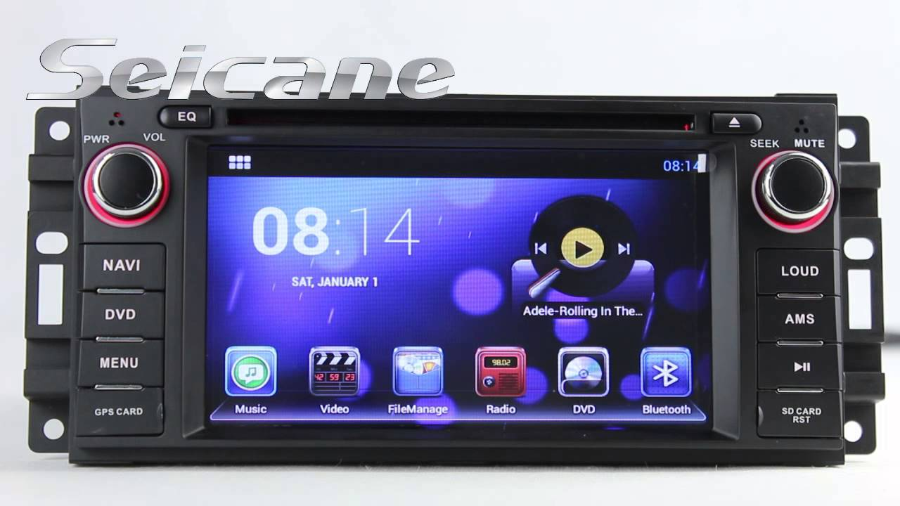 2008 2009 2010 2011 Jeep Grand Cherokee Android 4 2 Gps