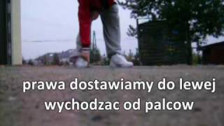 (Basic Cwalk Moves) Kroki Podstawowe ! - C-walk Tutorial by wisNNiowy