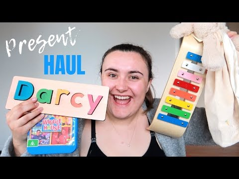HUGE FIRST BIRTHDAY PRESENT HAUL/IDEAS 2018