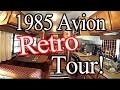 1985 Avion Vintage RV Airstream Look Alike!