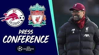 Liverpool's Champions League press conference | Salzburg