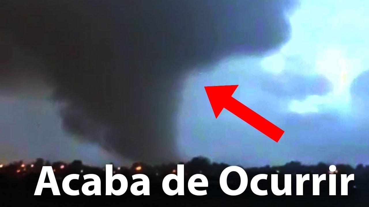 Tornado y Tromba en Chile Captados en Cámaras
