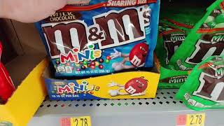 M&Ms Candy At Walmart - July 2019