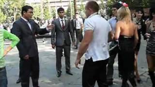 Драка на свадьбе в Алматы!