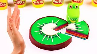 Kinetic Sand Play Doh DIY Creative Video For Kids