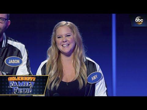 Amy Schumer Wins Fast Money - Celebrity Family Feud 3x1