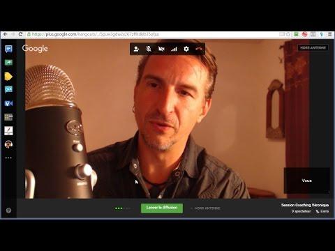 Comment créer une session Google Hangout pour votre business