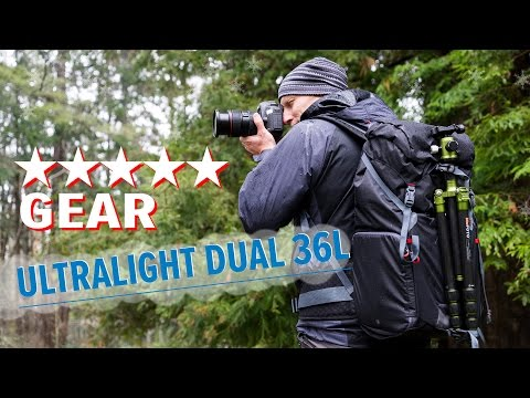 A Serious Backpack Camera Bag Mindshift Gear Ultralight Dual 36l Youtube