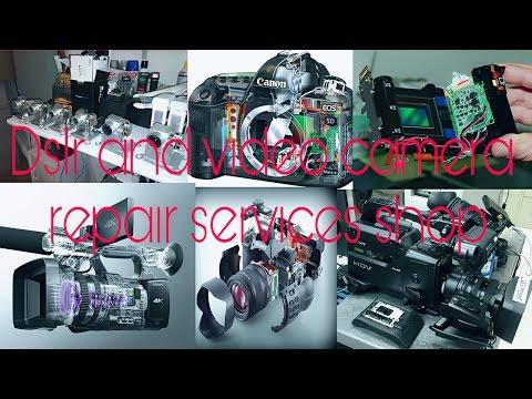 DSLR camera repair and video camera repair and service shop at ulhasnagar || video by Manish rajpal