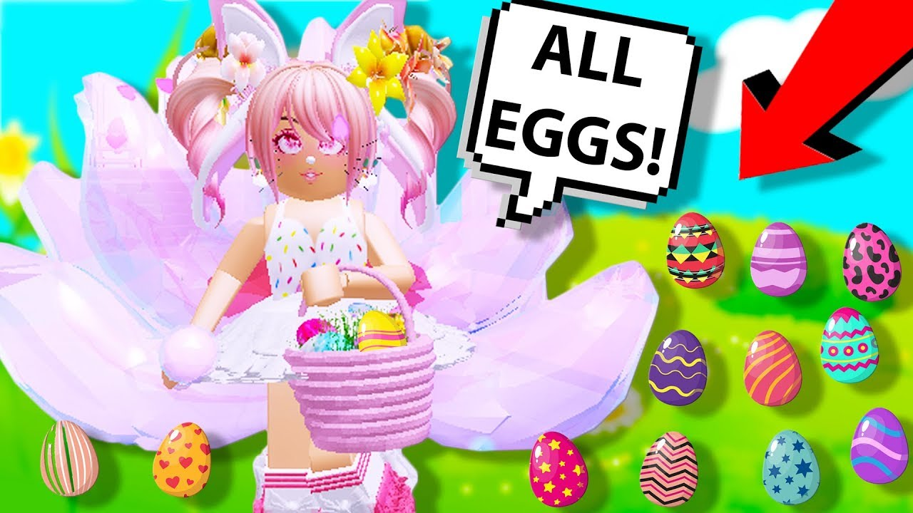 All Egg Locations In Royale High Easter Event Royale High