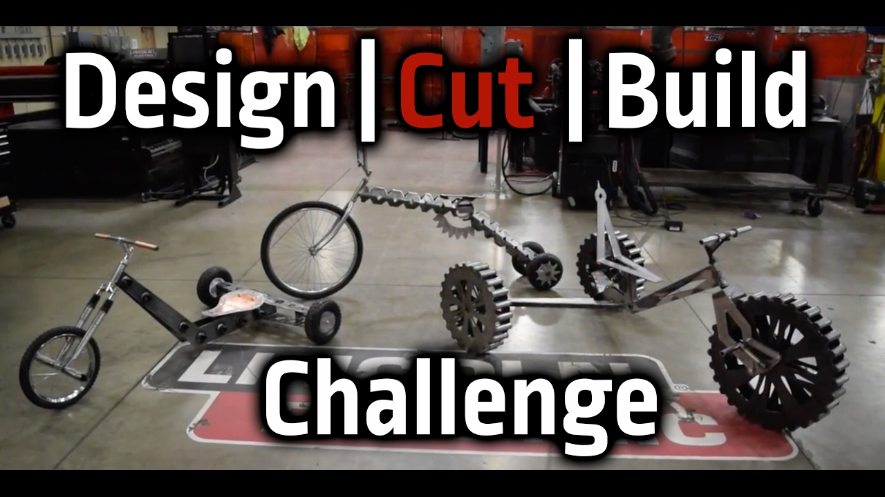 torchmate designs. first ever design | cut build challenge: trike off torchmate designs