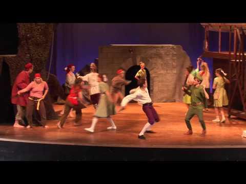 Peter Pan och kapten Kroks krok. Sista veckan!