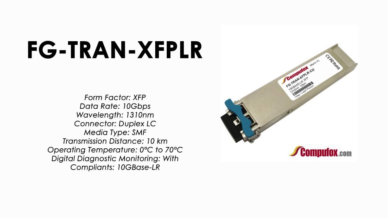 10G LR singlemode 1310nm 10km for FortiGate-3040B FG-3040B Compatible SFP