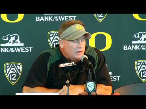 Chip Kelly Interview Part 1