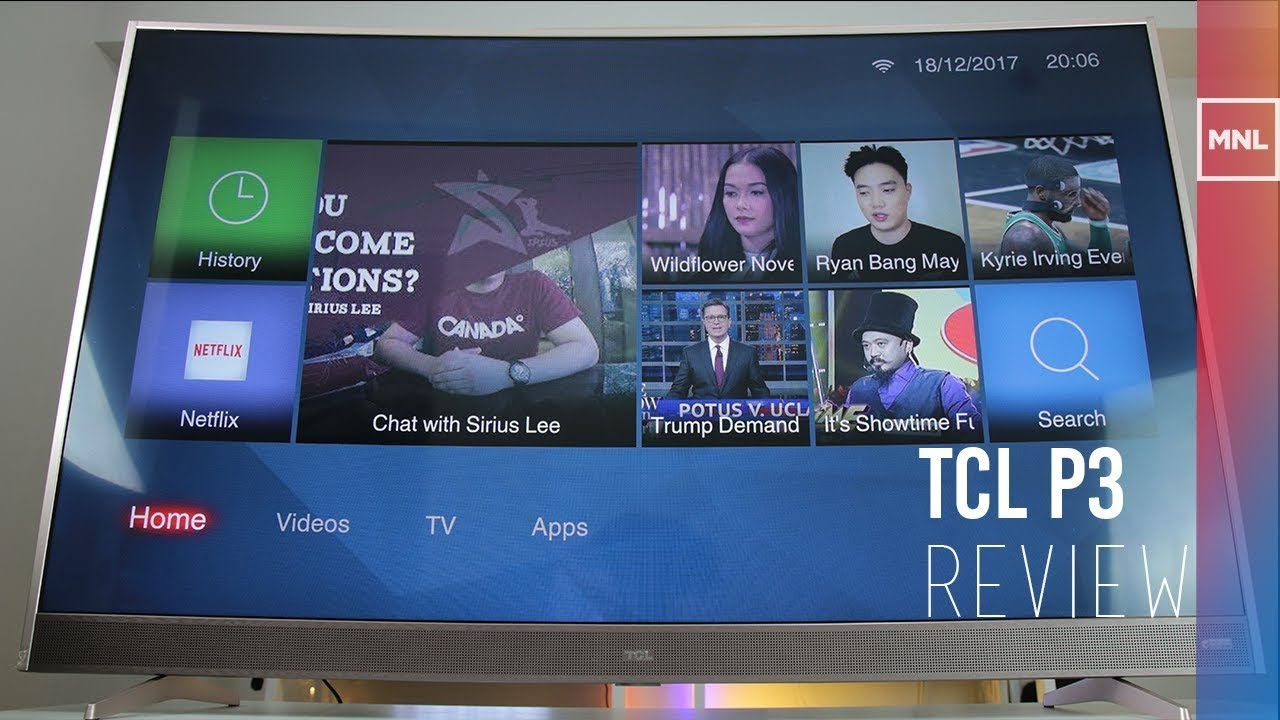 7b84cbb35b7 TCL P3 Review - Best FHD Curved Smart TV for  700  - YouTube