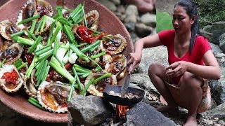 Yummy Cook Oyster with Tamarind Taste delicious - Cooking Oyster recipe for Eating delicious Ep 11