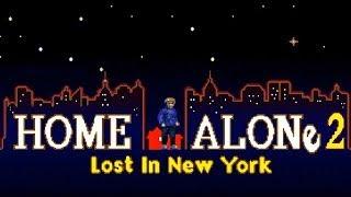 Rus Home Alone 2 - Полное прохождение (Sega Genesis) 1080p60EPX+