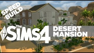 The Sims 4 - House Building - 100 SUBS Desert Mansion