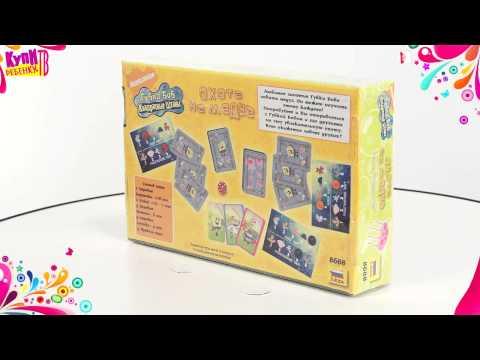 Губка Боб  Настольная игра Охота на медуз 8688