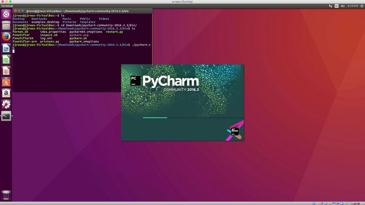 Install PyCharm on ubuntu Linux