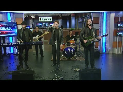 Australian Bee Gees perform on Midday