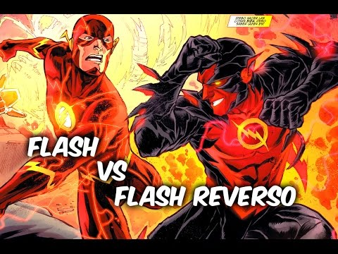 FLASH Vs FLASH REVERSO (los nuevos 52) @Comics Tj