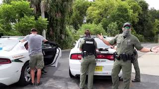 Karen (Male) & Cops Get OWNED 1st Amendment Audit FAILED INTIMIDATION