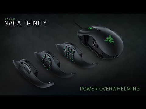 Razer Naga Trinity RGB Gaming Ποντίκι