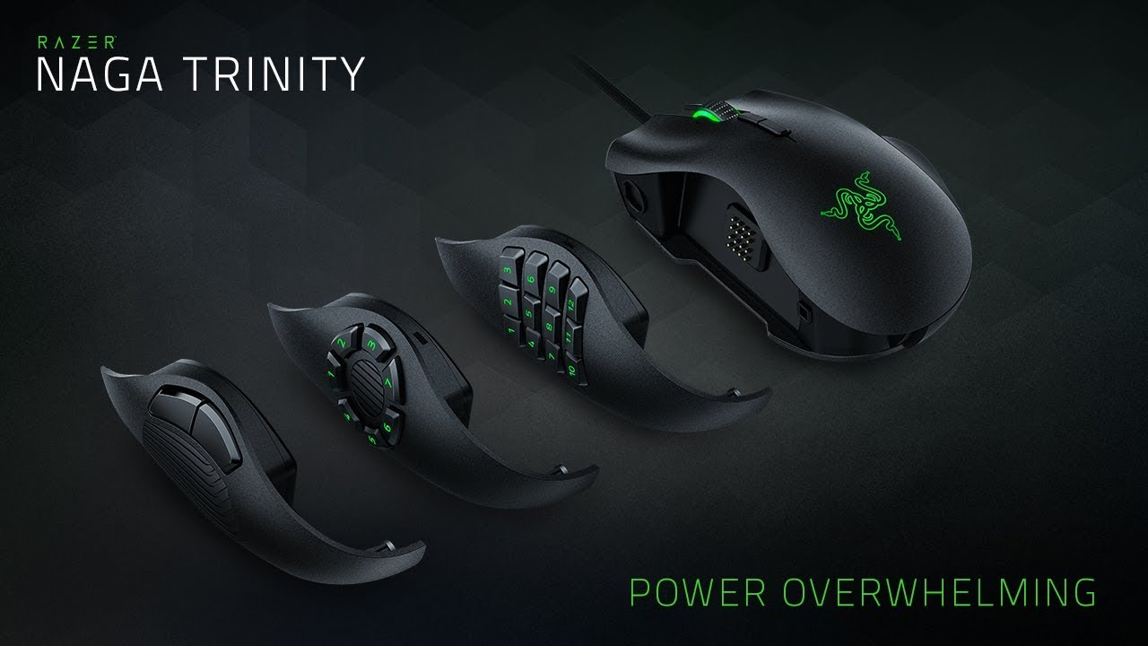 Razer Naga Trinity Mouse and BlackWidow Ultimate Keyboard