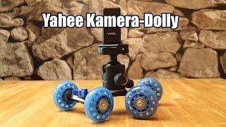 Yahee Kamera-Dolly | Kamerawagen für geschmeidige Kamerafahrten