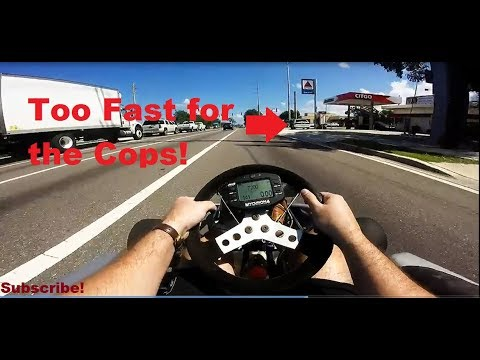 Shifter Go Kart 90 Mph On The Street Vs Police In Florida