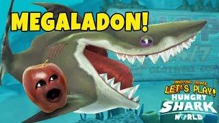 Midget Apple - Hungry Shark World: Megaladon