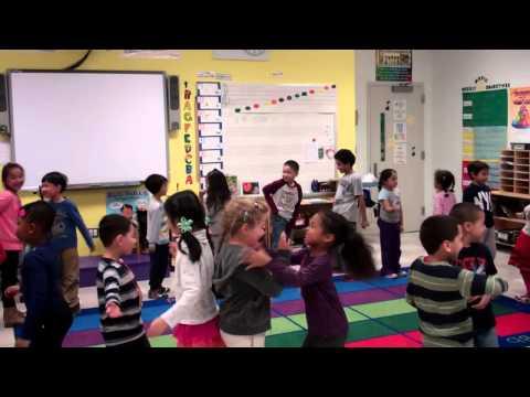 1st Grade Music Class partner games