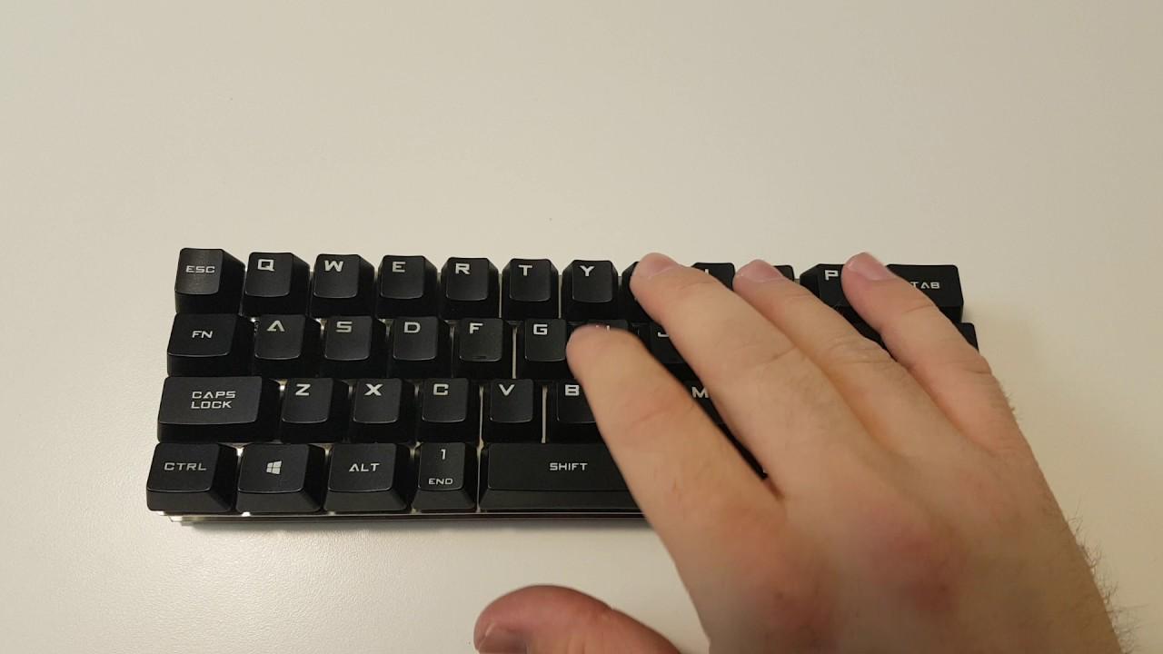 My custom 40% keyboard with 67g Zealios