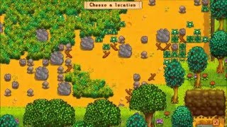 Stardew Valley Getting a Silo! (DON'T CUT YOUR GRASS)