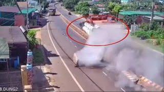 Camera an ninh quay lại khoảng khắc TNGT ở Đắk Lắk