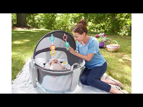 Get The Scoop On The Fisher-Price® On-the-Go Baby Dome With Twiniversity
